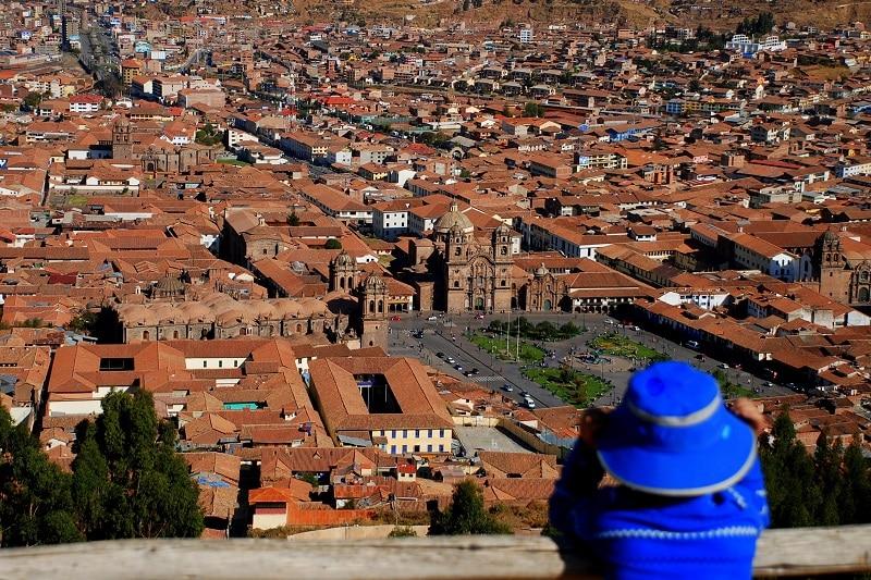 ancient Incas empire heart Cusco Peru