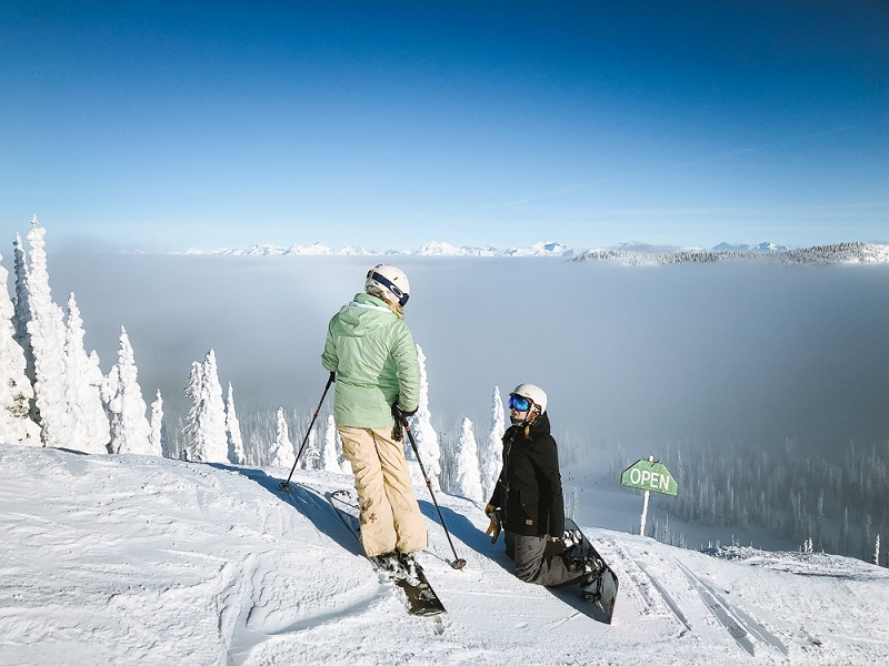 best places to snowboard in US