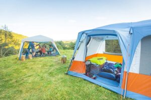 what camping tent is best for a large group