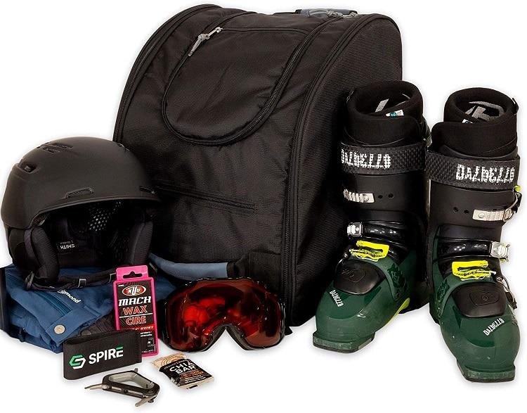 ski and snowboard gear boot bag