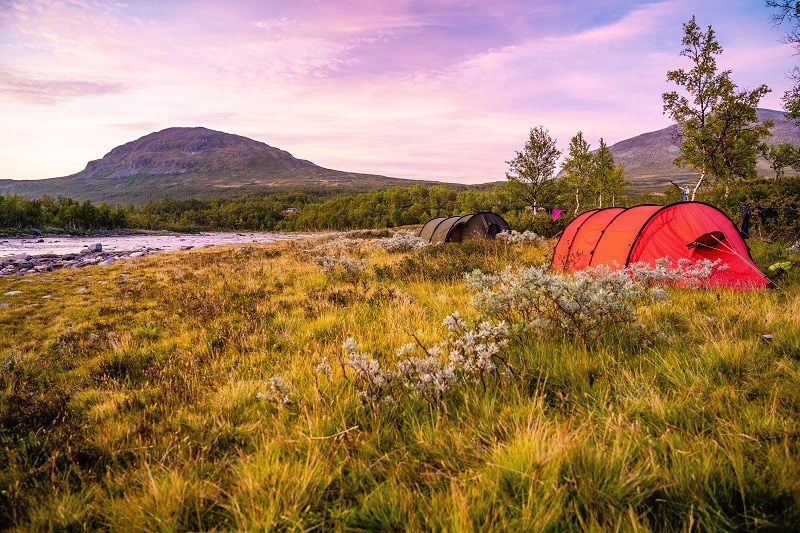 wild camping tents sweden