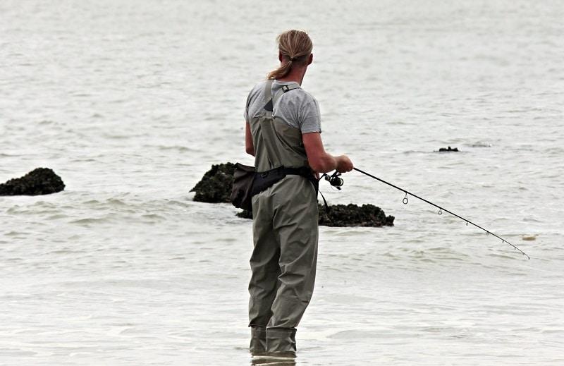 angler fishing