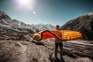 how to properly take care of your sleeping bag 1