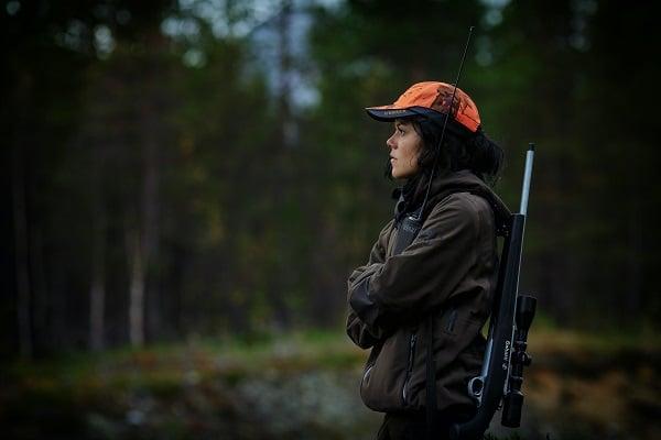 hunter on hunting trip