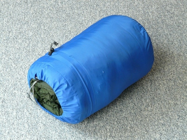 store your sleeping bag properly