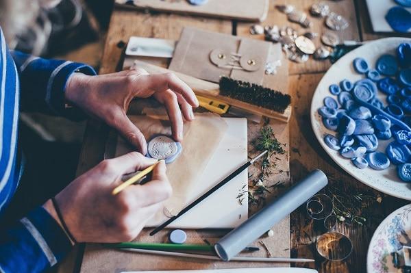 crafting upcycling hobby