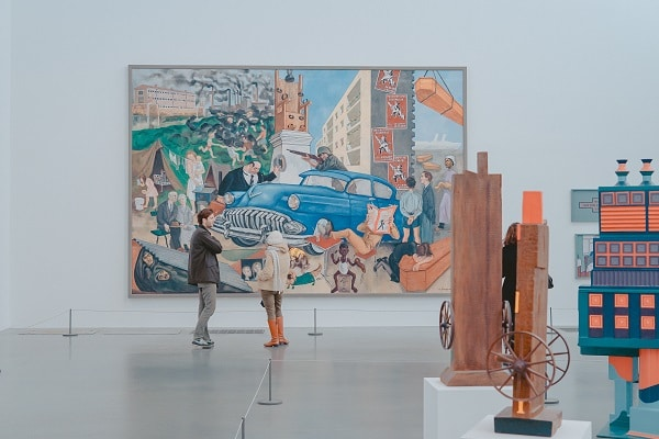visit Tate Modern on trip to the United Kingdom