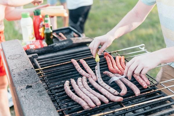 campsite barbecue