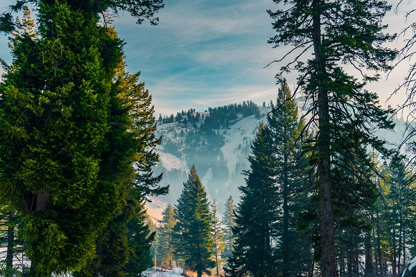 Bogus Basin mountain resort Idaho