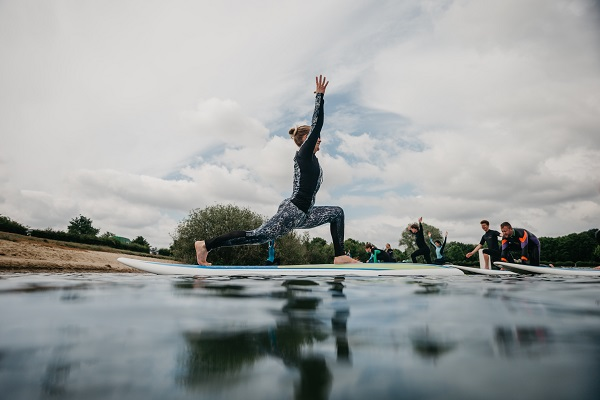 try SUP yoga to stay fit on holiday